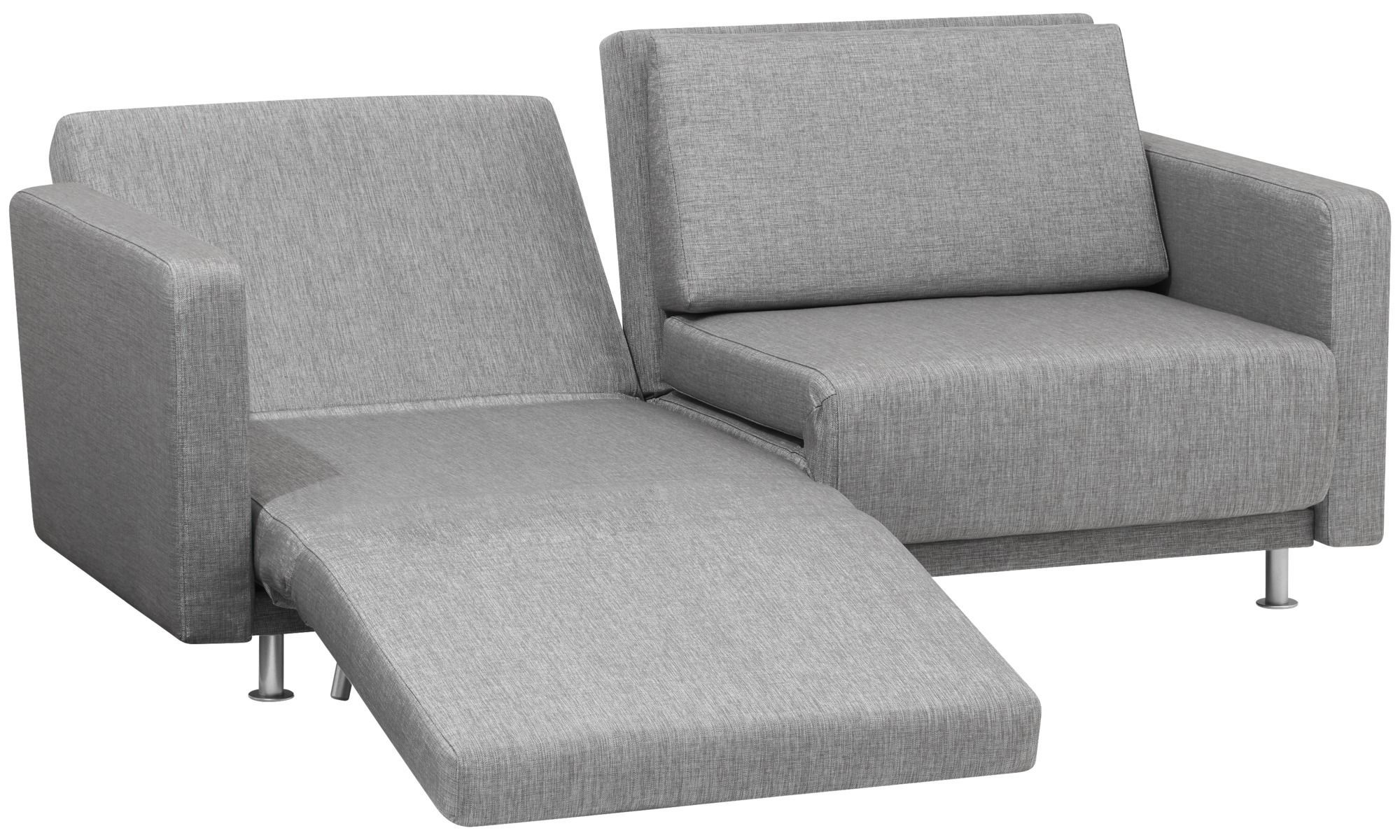 Sofa Beds Melo 2 Sofa With Reclining And Sleeping Function Gray Fabric Sofa Mit Schlaffunktion Kleines Schlafsofa 2er Sofa