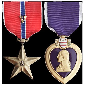 Google Image Result For Https Flywichita Com Eisenhower Air Magazine Issue 7 Img Honor Military Hero Babcock A Bronze Stars Purple Heart Medal Military Honor