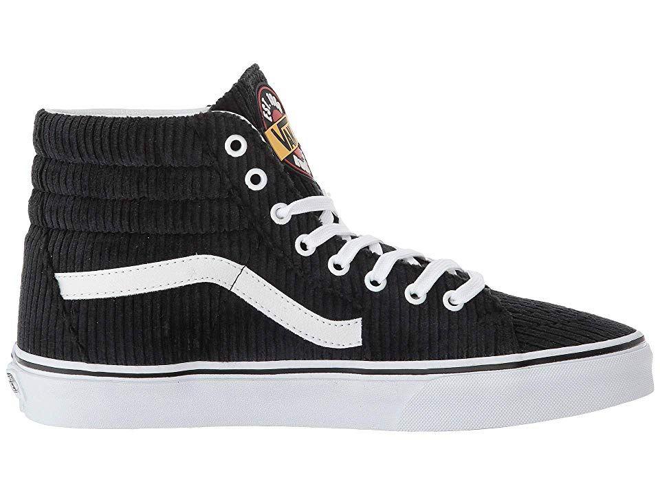 347477af00 Vans SK8-Hi Athletic Shoes (Design Assembly) Black True White ...