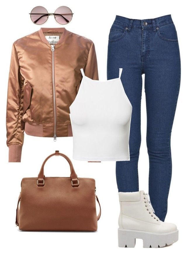 """""""no small talk"""" by stephuzumaki ❤ liked on Polyvore featuring Acne Studios, Zara, Dr. Denim, Estradeur and Dr. Martens"""