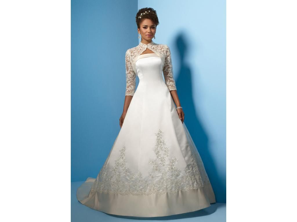 Alfred angelo j size new unaltered wedding dresses