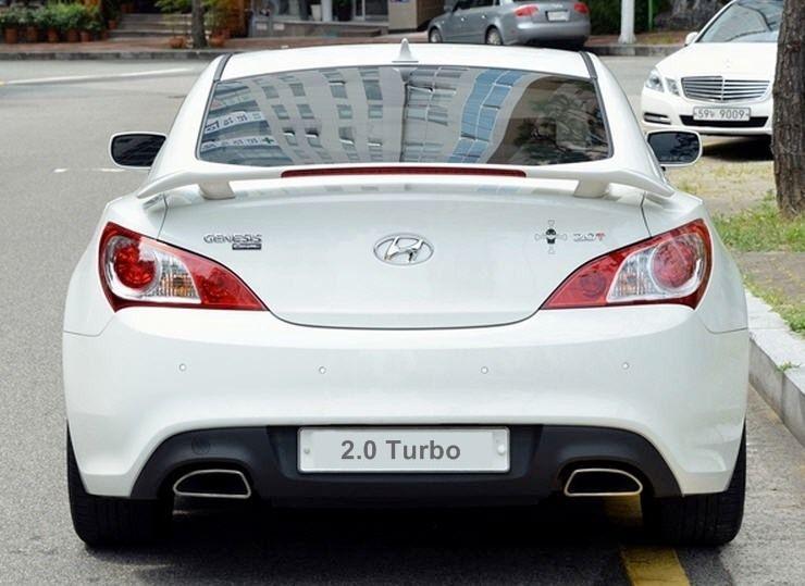 Genuine Rear Wing Spoiler for Genesis Turbo 2.0