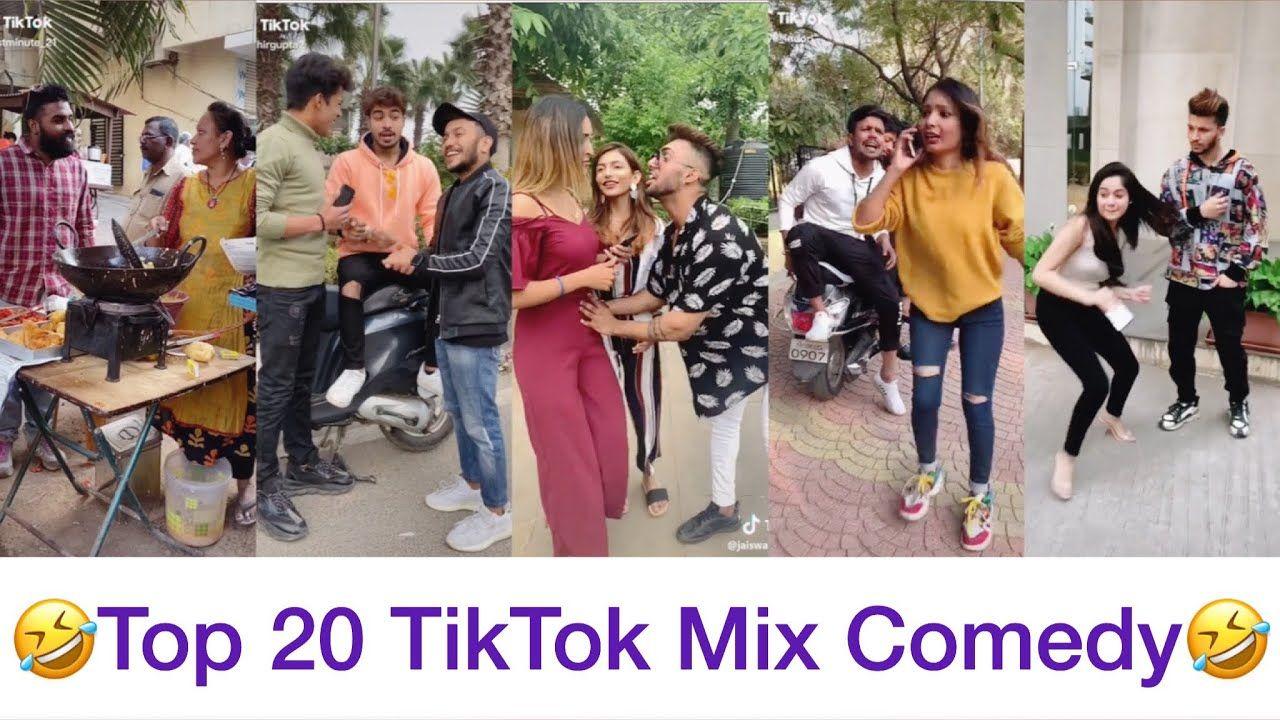 Viral Trending Top 20 Tiktok Mix Comedy Funny Video All Tiktok Stars Comedy Jyada Haso Mat Youtube Entertainment Funny Video
