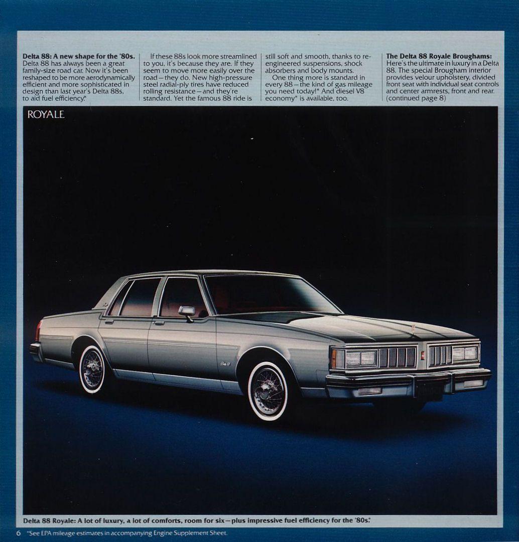 Pin On Oldsmobile: 1980 & Beyond