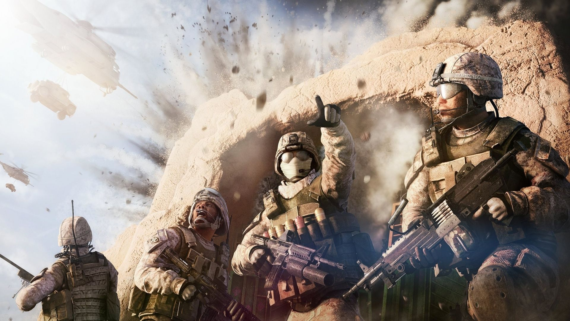 Download Wallpaper 1920x1080 Tom Clancys Ghost Recon Future Usmc Wallpaper Medal Of Honor Army Wallpaper