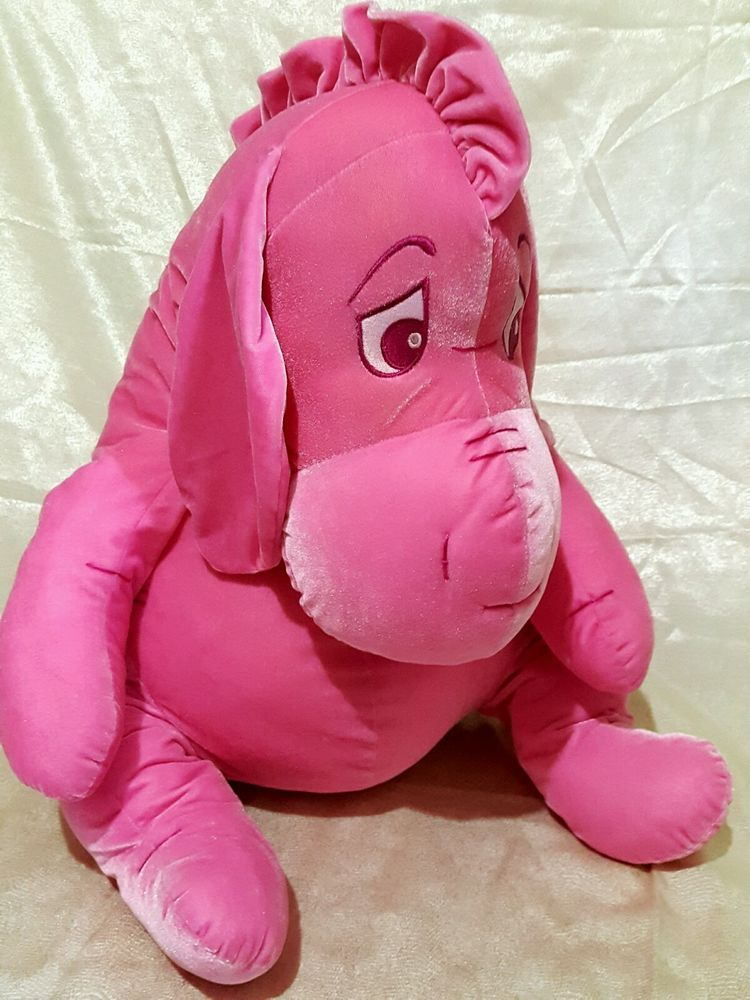 Large 27 Ins Pink Eeyore Plush With Sad Eyes  Disney  c432fbfde