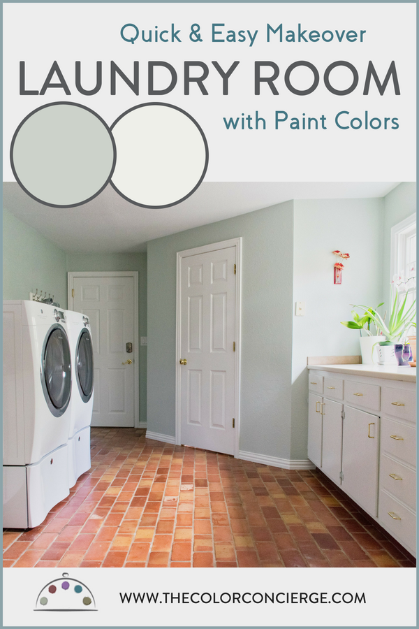 Quick Easy Laundry Room Makeover With Paint Colors Color Concierge Laundry Room Colors Laundry Room Paint Color Laundry Room Storage