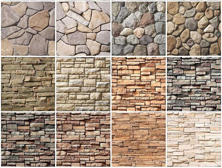 9 seamless stone wall texture 3b rocks in 2019 - Exterior wall stone cladding texture ...