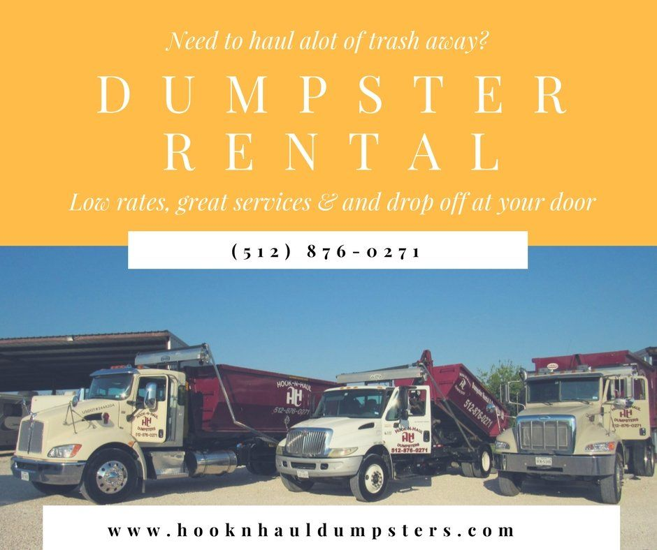Austin rolloff dumpster rentals are affordable and