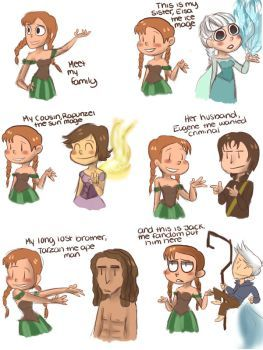 Frozen Tangled Guardians by Milady666 on DeviantArt