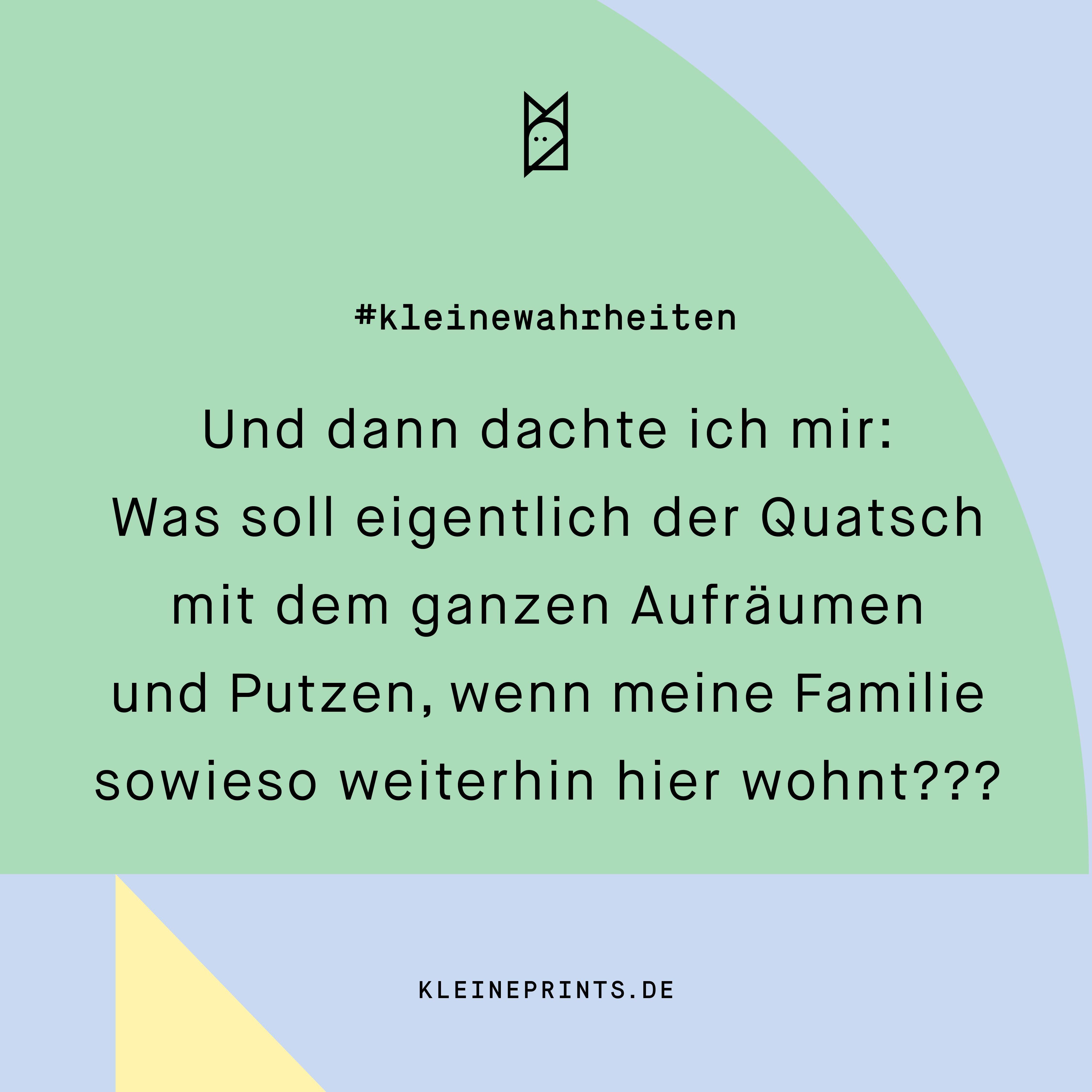 Stylische, lustige Postkarte für Mamas & Papas #quotetoparents