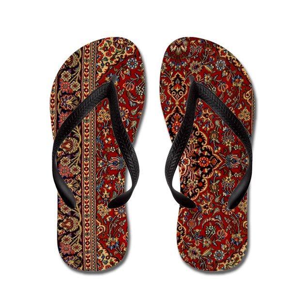 67e633f177e0 Persian Carpet Flip Flops on CafePress.com