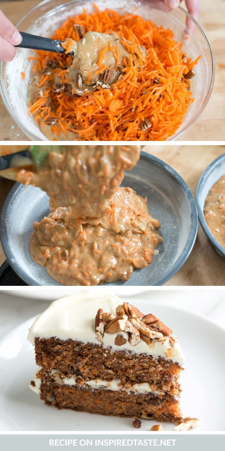 Incredibly Moist and Easy Carrot Cake #cakebatter