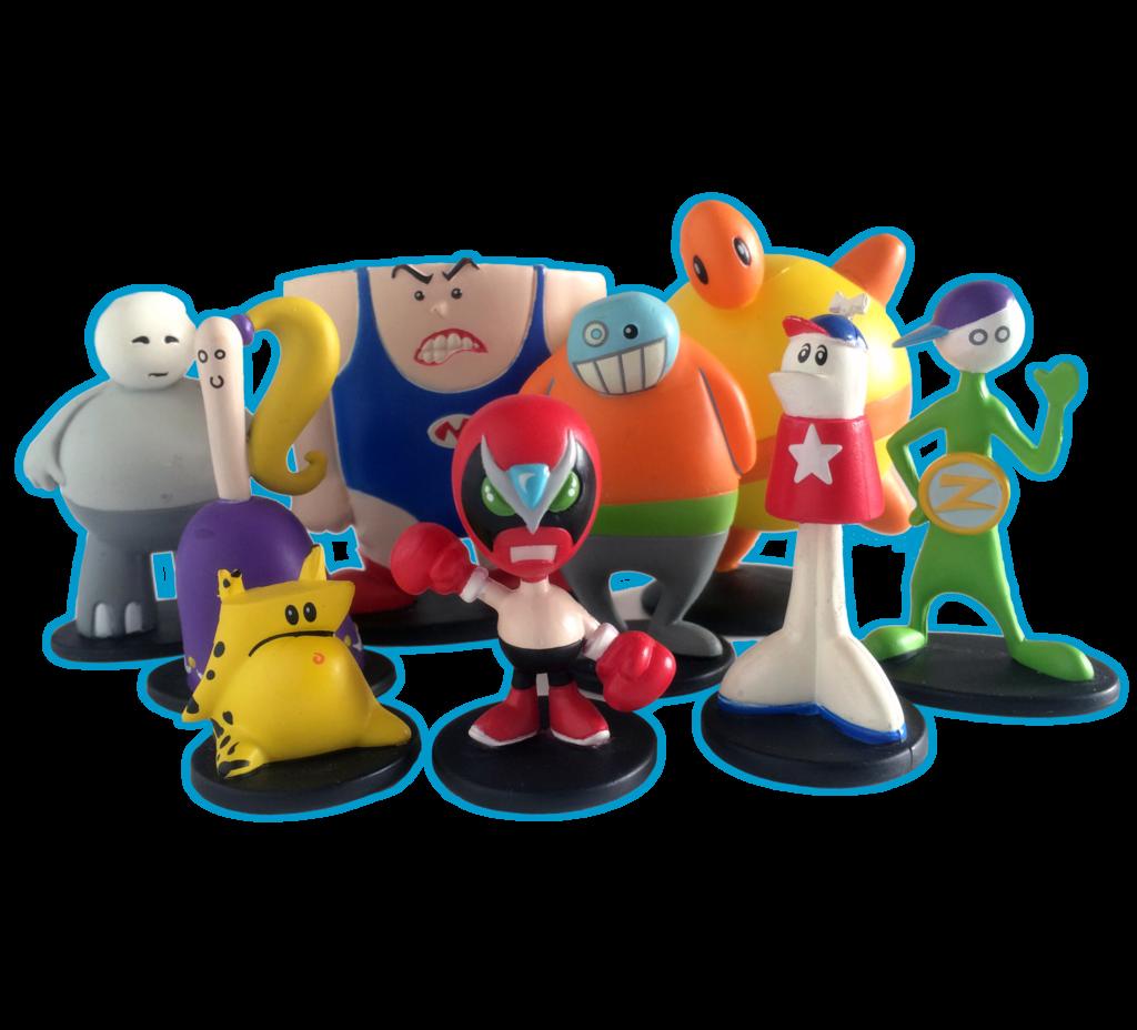 Homestar Runner Figurines Series #1