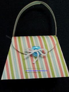 Petite purse created by Brittny Smith...adorable party favors