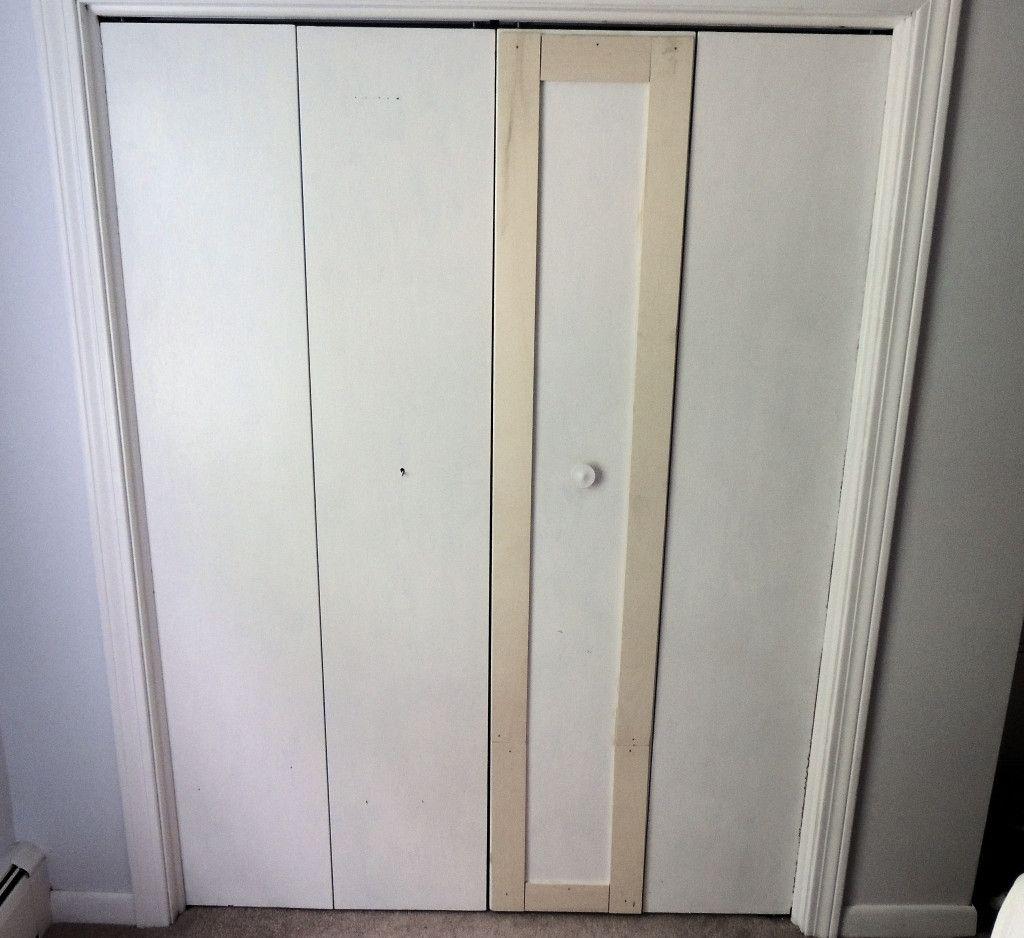 Attirant Flat Panel Closet Doors