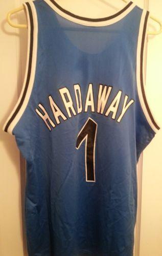 601055062 Vintage Orlando Magic Anfernee Penny Hardaway NBA Champion Basketball Jersey  48