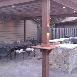 pergola outdoor lighting find porch