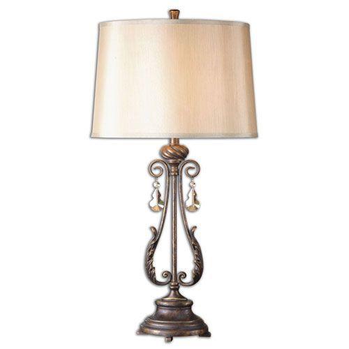 Cassia Distressed Oil Rubbed Bronze One Light Table Lamp Lamp Table Lamp Bronze Table Lamp