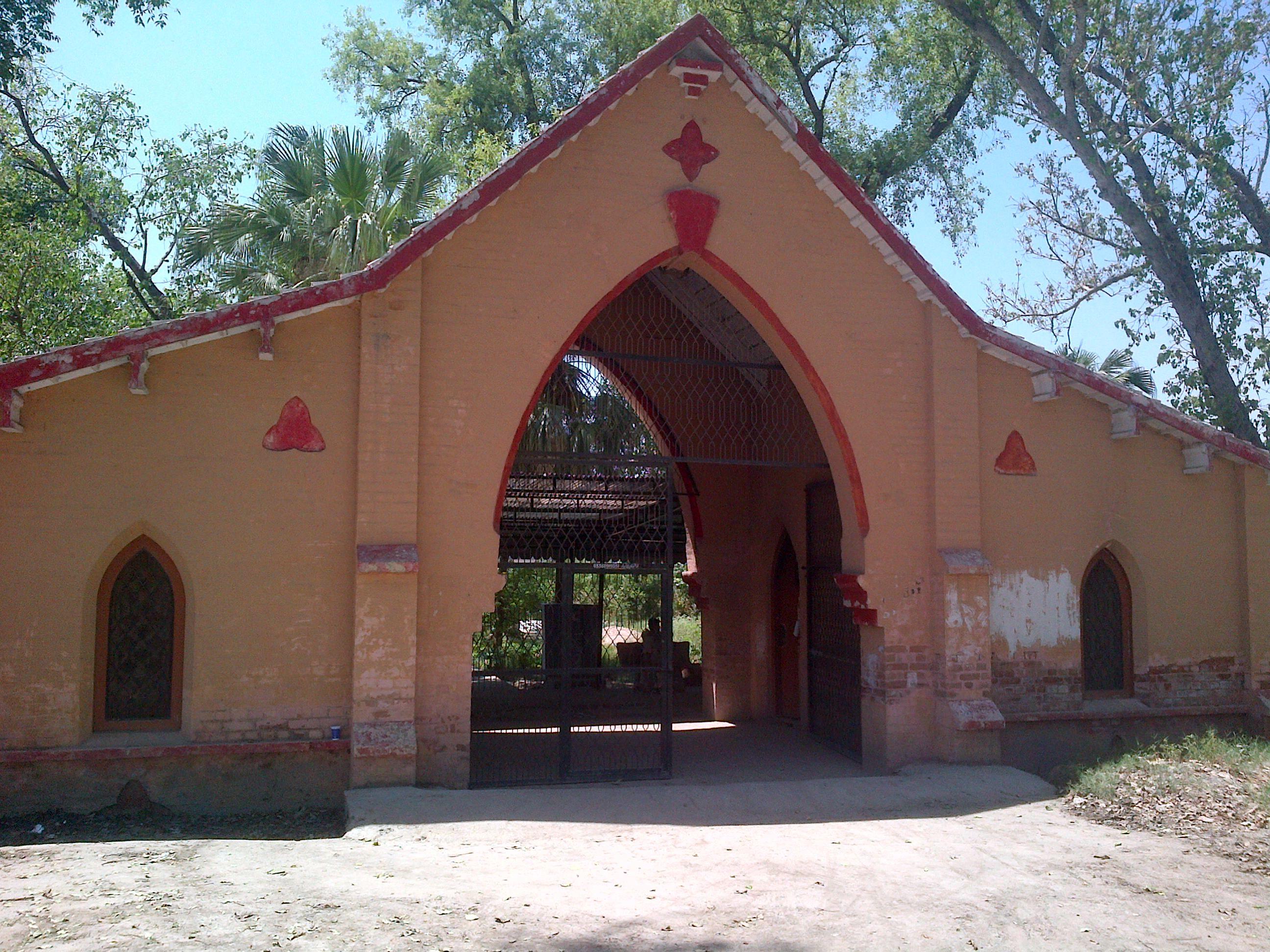 Entrance - Tehkal Christian Cemetery Peshawar.