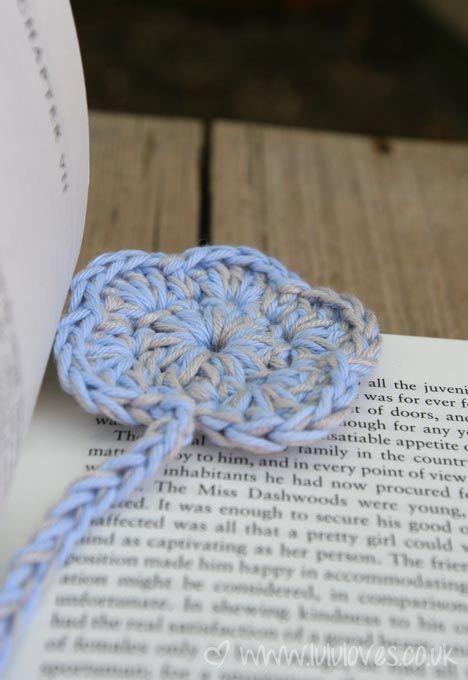 Crochet Flower Bookmark Pattern String Chaos Pinterest