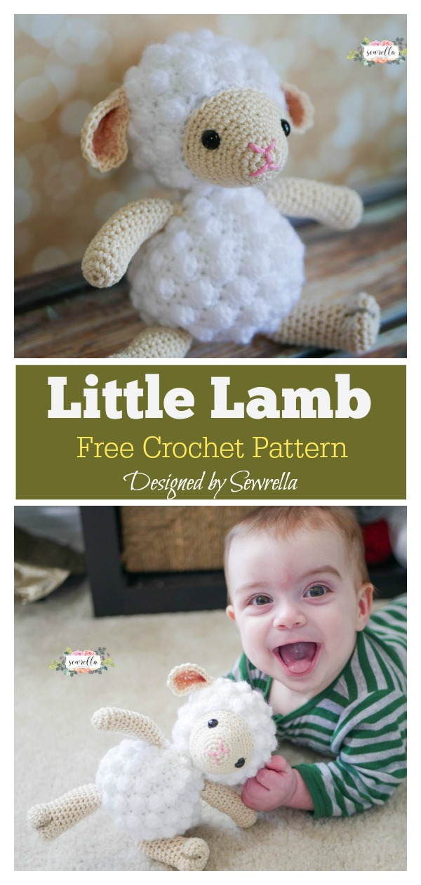 Amigurumi Toy Sheep Free Crochet Pattern