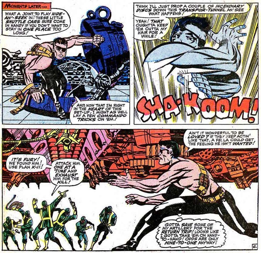 Steranko's Nick Fury (from Strange Tales)
