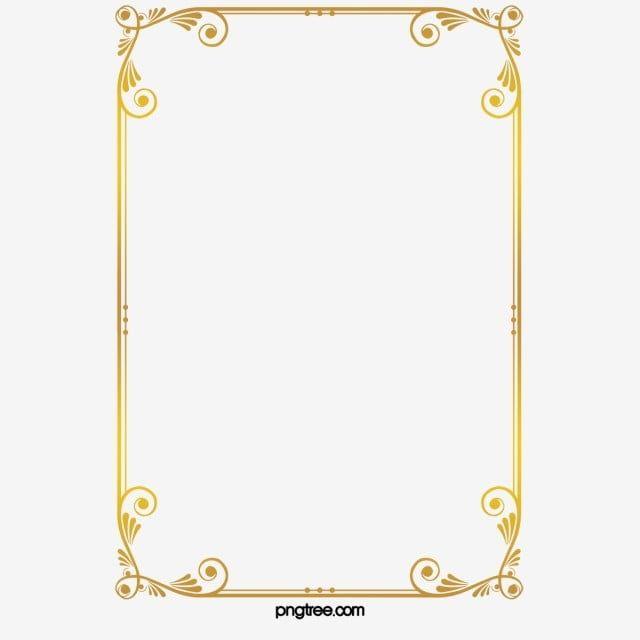 Frame Clipart Golden Frame Pattern Gold Clipart Page Borders Islamic Frame Vintage Frame Square Frame Gold Frame Re Gold Clipart Gold Frame Frame Border Design