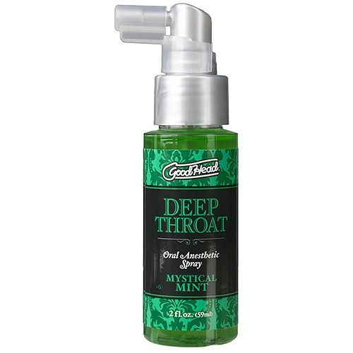 Make up remover for lube deep throat