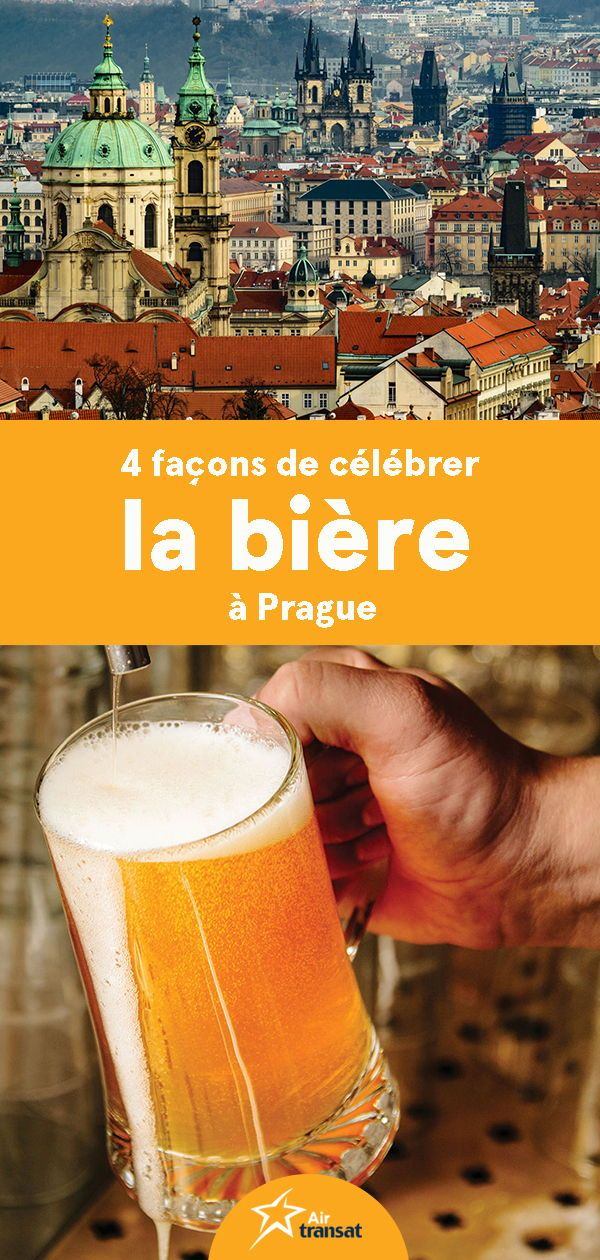 Bière à Prague Czech beer, Best beer, Prague