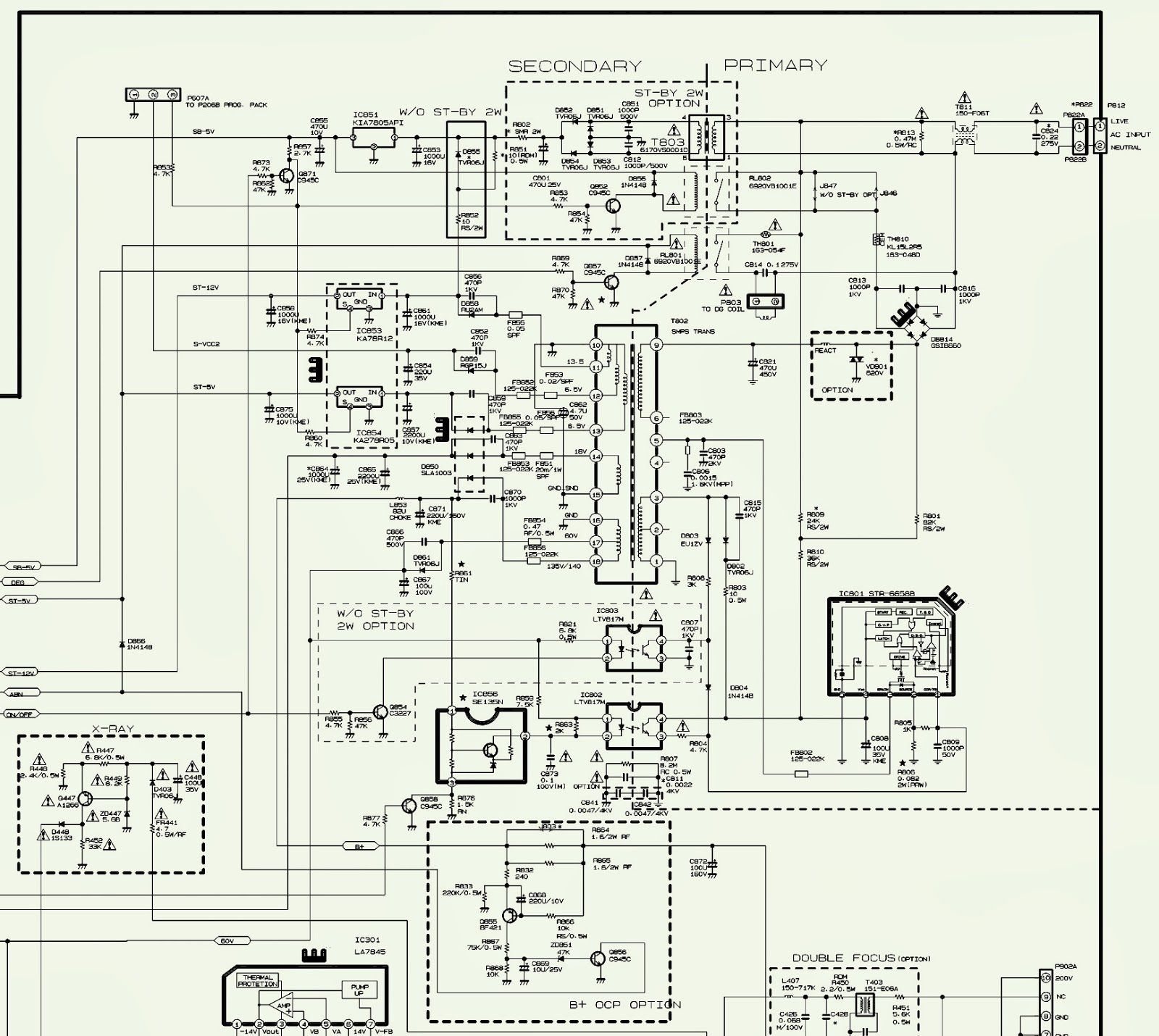 sansui tv circuit diagram free download circuit diagram images samsung tv circuit diagram group picture image by tag [ 1600 x 1430 Pixel ]