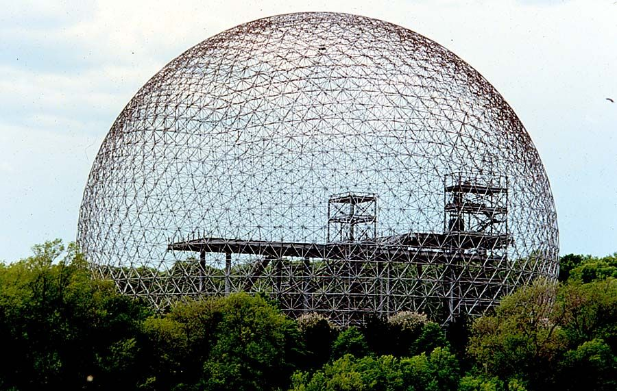 Kuvahaun tulos haulle buckminster fuller dome