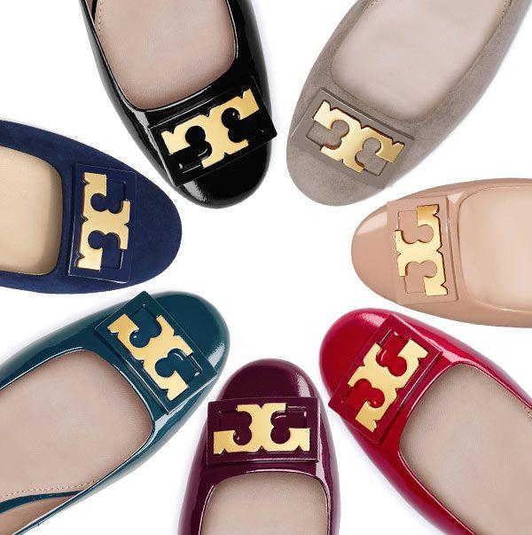 Tory Burch Gigi Pump. Our favorite era in a shoe: A flared block heel