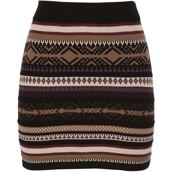Body Con Sweater Skirt ($29) ❤ liked on Polyvore | My style ...