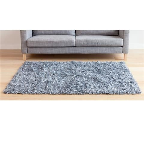 Grey Sparkle Floor Rug Kmart
