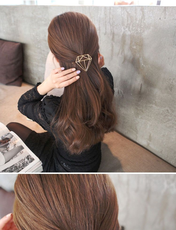 Oohlala! Diamond Shaped Hair Clip | YESSTYLE