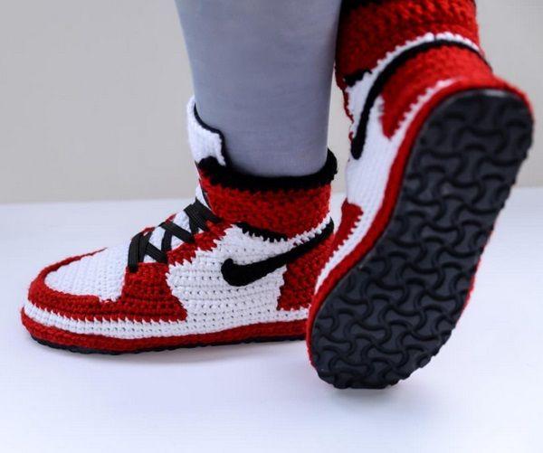 Fuggit Jordan 1 Chicago Slippers