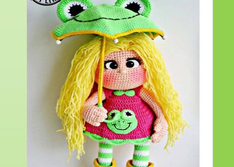 Amigurumi Patterns Doll Free : Amigurumi kokeshi doll free crochet pattern tutorial here