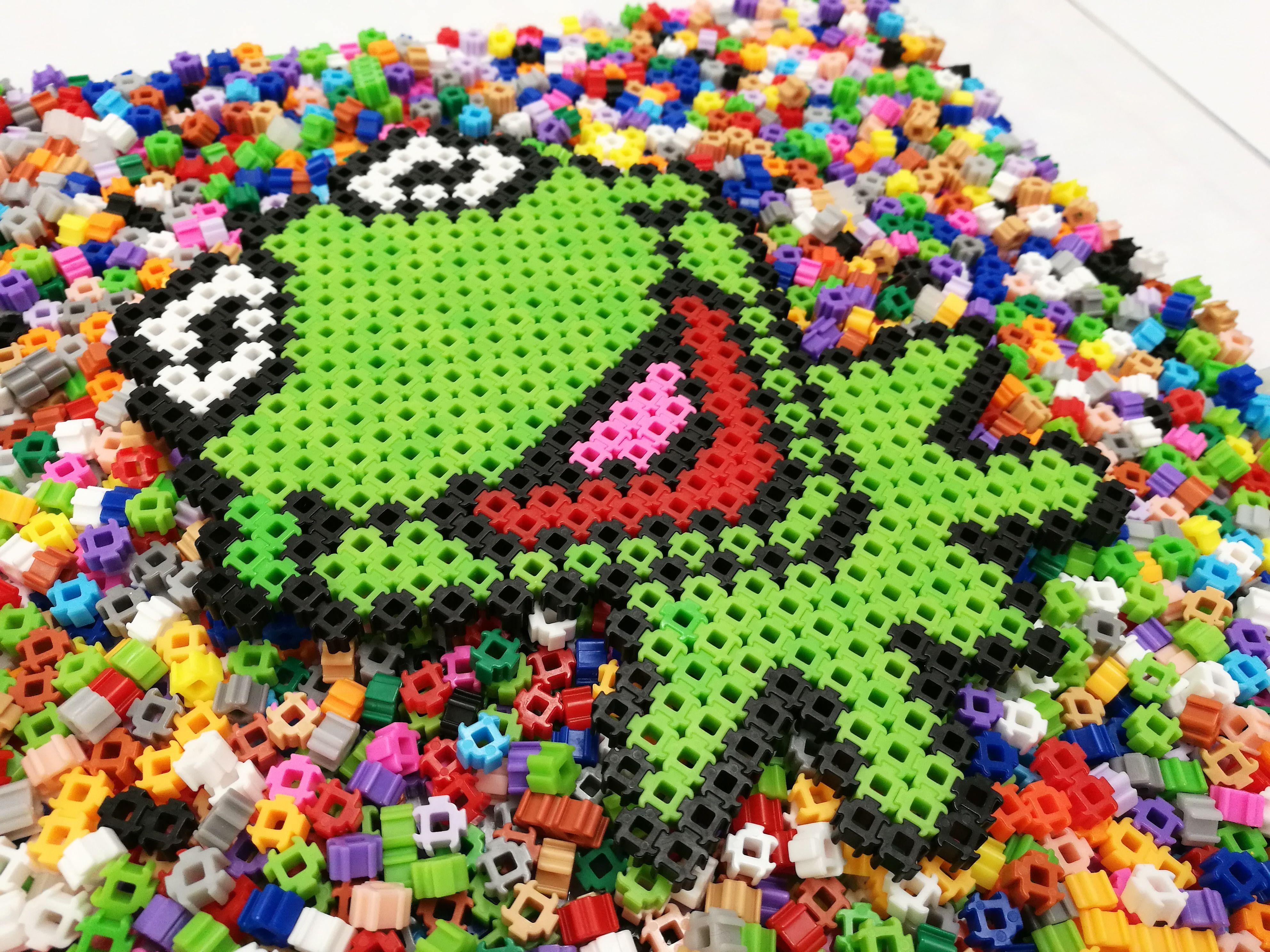 Kermit The Frog Simbrix Beads Puzzle Lego Art Artstagram