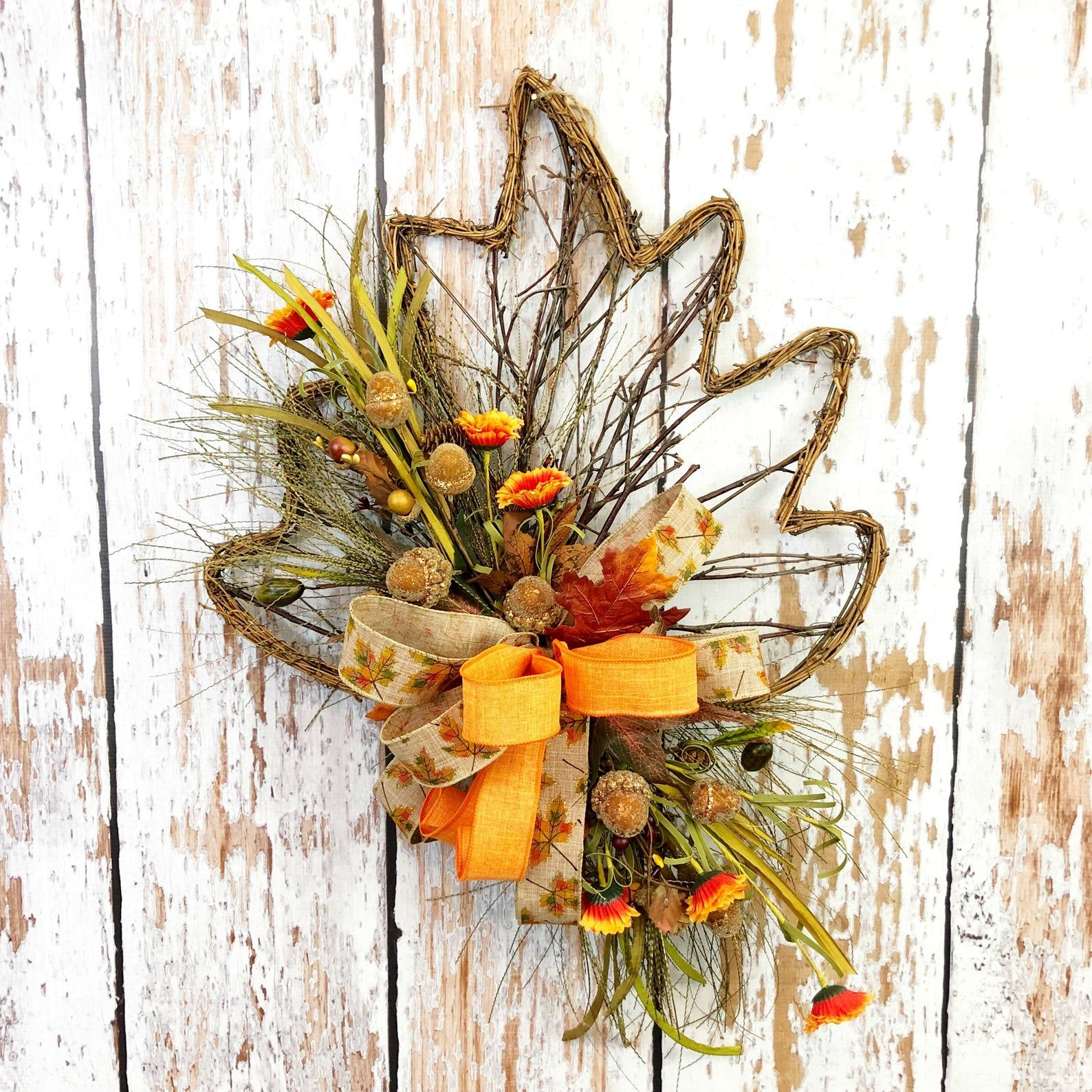 etsy farmhouse front door wreath