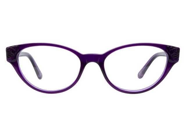 Anna Sui AS558 750 Electric Purple   Cat Eye Frames   Pinterest ...