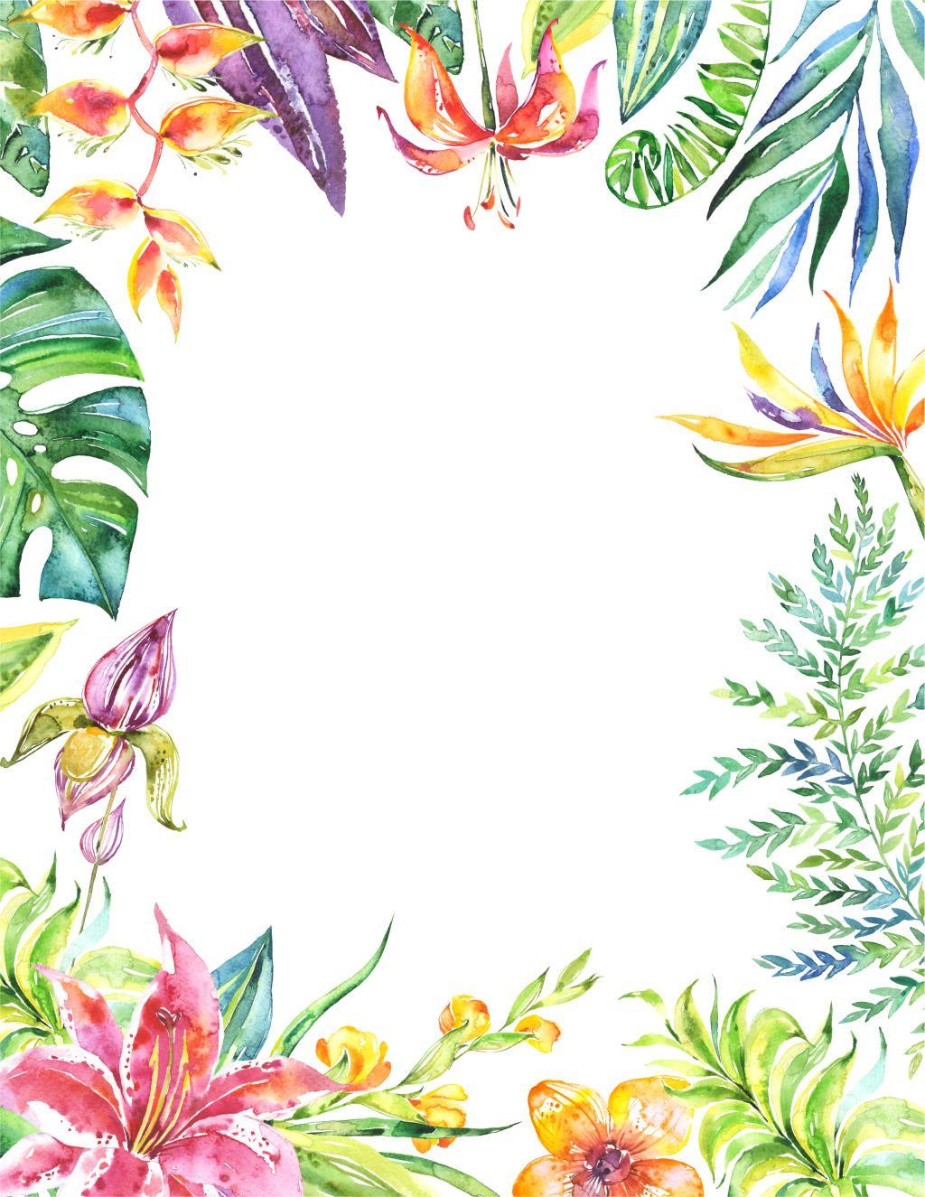 海报背景唯美梦幻花卉绿叶   flores, árboles, ramas, hojas   Pinterest ...