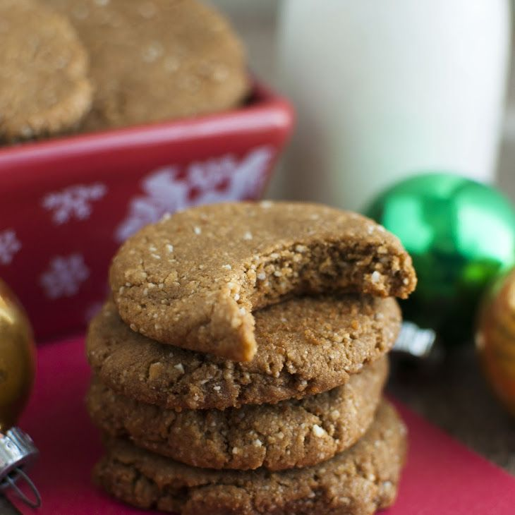 Soft And Chewy Ginger Molasses Cookies Recipe In 2018 Vegan