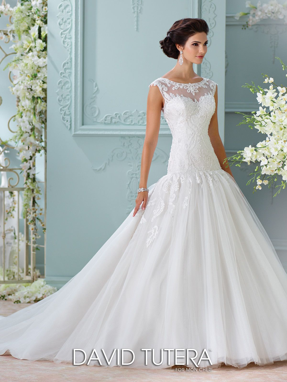David Tutera - Chiara - 116226 - All Dressed Up, Bridal Gown | David ...