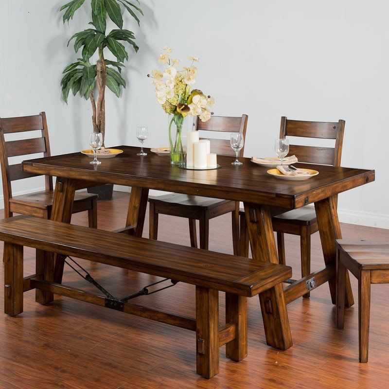 Tuscany Rectangular Extension Dining Table Extension Dining