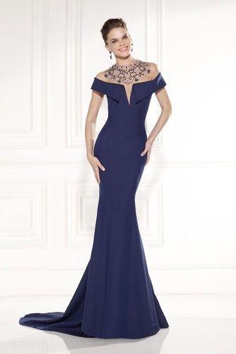 da5f40005741 Víčko Krátký rukáv Mořská panna Bateau Slečny Společenské šaty - Strana 1