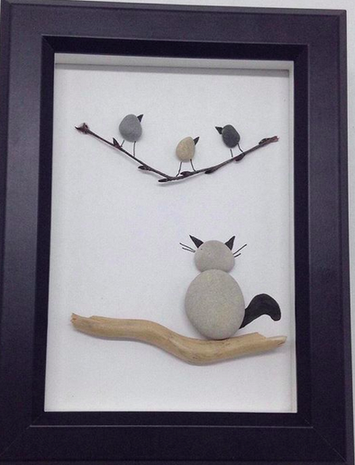 Beautiful Pebble Art Ideas #PebbleArt