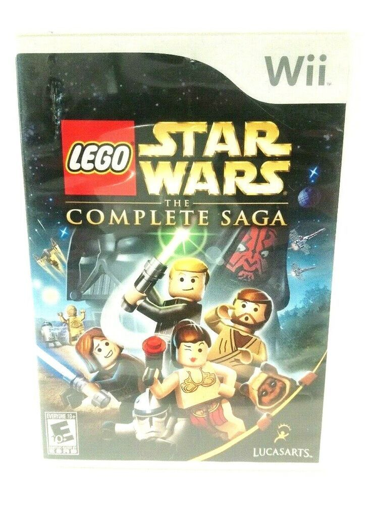 Lego Star Wars The Complete Saga Nintendo Wii 2007 Nintendoswitch