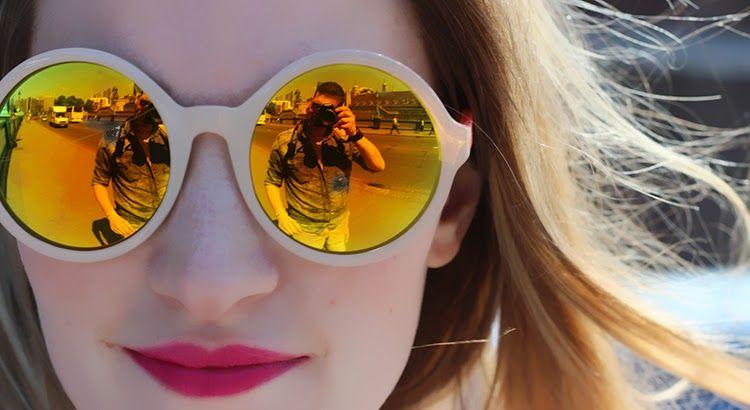 Love these mirror sunglasses! Awesome look