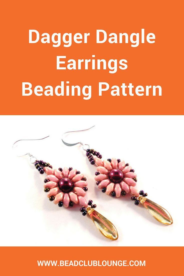 Beaded Earring Patterns For Beginners Interesting Decorating Design